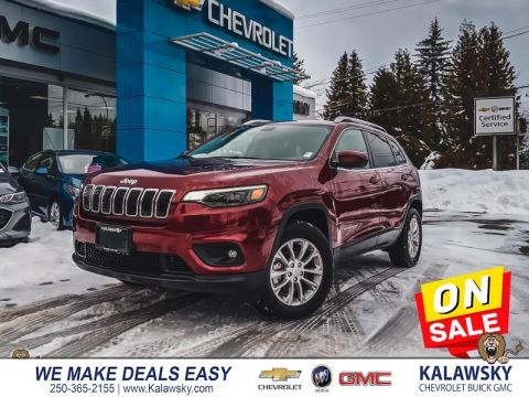 2019 Jeep Cherokee North  - Only $245 bi-weekly