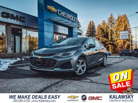 2019 Chevrolet Cruze LT  - Only $188 bi-weekly