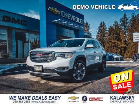 2018 GMC Acadia SLT 2   - Only $299 bi-weekly + Free Winter Tires