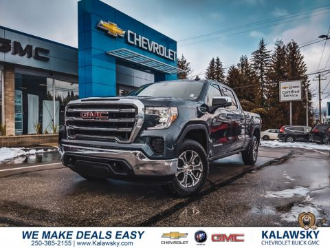 2020 GMC Sierra 1500 SLE  -  Android Auto