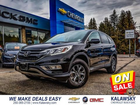 Pre-Owned 2015 Honda CR-V SE - Only $179 bi-weekly 4WD SUV